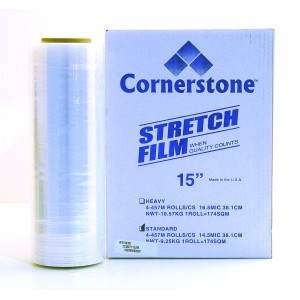 Hand Stretch Film 15 in. and 16 in