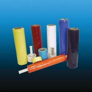 Colored Machine Grade Stretch Wrap Film